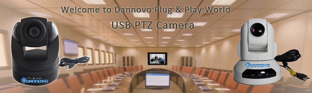 Dannovo PTZ USB Video Conference Camera